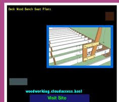 Deck Wood Bench Seat Plans by Folding Bench Seat Plans 201545 Woodworking Plans And Projects