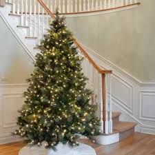 9 foot christmas tree pre lit christmas trees you ll wayfair