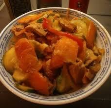 cuisine chinoise poulet poulet au sauté de légumes à la chinoise recette iterroir