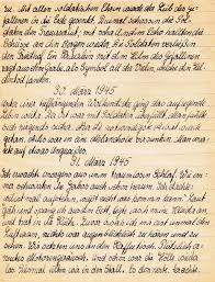 Komplett K Hen Kriegsnotizen 1945 Sinntal Jossa