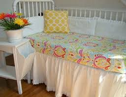 Pink And Yellow Bedding Mesmerizing Yellow And Pink Baby Bedding Stunning Small Home