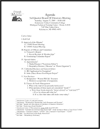 Board Meeting Agenda Templates by Agenda Templates Word Example Mughals