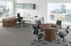 Executive Office Furniture Suites Lucid Systems U Shaped Executive Desk With Storage Credenza Suite