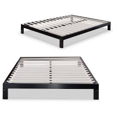 Platform Metal Bed Frame Xl Platform Bed Frame Inspirations Also Metal Framemattress