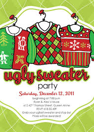 ugly sweater invite we so need to do this for class