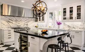 kitchen design breakfast bar home design gorgeous modern kitchen design with orb chandelier