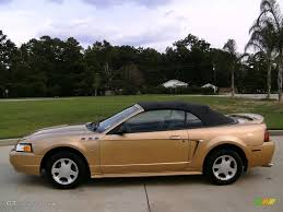 2000 ford mustang colors 2000 sunburst gold metallic ford mustang v6 convertible 14646201