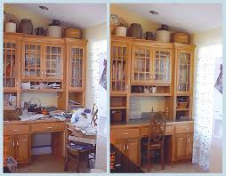 Kitchen Desk Organization Before And After Organizing Projects Organize It Data Time