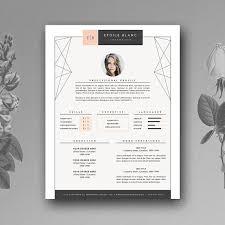 simple decoration cute resume templates enjoyable inspiration