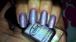 color club fashion addict holographic nail polish youtube