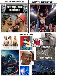 Pacquiao Meme - pacquiao vs mayweather mayweather vs pacquiao know your meme