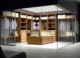 spazzi walking closet design glass walls stunning nice decor cool