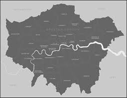 vector map map of boroughs royalty free editable vector map maproom
