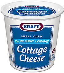 Calories In Lowfat Cottage Cheese by Kraft Cottage Cheese Small Curd 2 Milkfat Lowfat 24 0 Oz