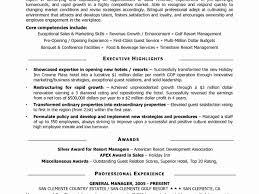 sample resume general manager general manager cv sample