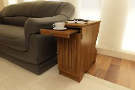 an table with storage can unclutter your messy coffee table