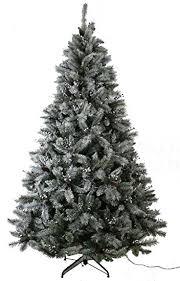 abusa trees 9 ft prelit snowy everest needles