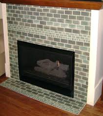 white glass tile fireplace surround image ideas modern designs