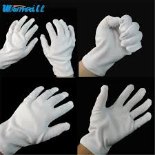 online buy wholesale white gloves halloween from china white