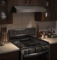 Oven Range Hood Ge Pvx7300ejes 30 Inch Under Cabinet Range Hood With 400 Cfm 4