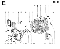 parts manual for lombardini 10ld engine 10ld 400 2 ricambi motori lombardini 10ld 400 2 lombardini 10ld