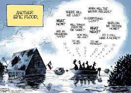 Nate Beeler Cartoons by Beeler Cartoon Another Epic Flood Opinion Rockford Register