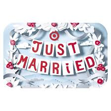 just married cards just married banners gift card target