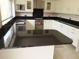 Black Granite Bench Tops 27 Best Black Pearl Granite Countertops Design Ideas