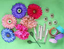 Fairy Garden Craft Ideas - diy fairy flower clothespins crafts unleashed