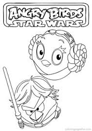 angry birds star wars coloring pages diy angry