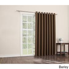Patio Door Curtain Rod Patio Door Rods Curtain Rod Bracket Attachment For Outside Mount