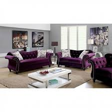 Furniture Of America Jolanda  Piece Living Room Colleciton Las - Three piece living room set