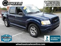 2004 ford explorer sport trac adrenalin used ford explorer sport trac for sale in knoxville tn edmunds