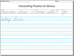 Cursive Worksheet Maker Maestra Free Diy Handwriting Worksheets