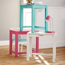 Small Desk For Small Space Stack Me Up Small Space Desk Pbteen