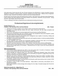 board member resume resume samples