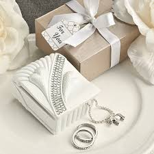 jewelry box favors bling heart jewelry box wedding favor boxes containers