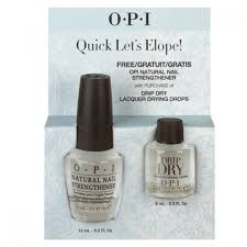 quick let u0027s elope buy dripdry get free nail strengthener