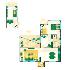 Guest House Floor Plan by Jacky Winter Gardens An Artful Retreat Outside Melbourne