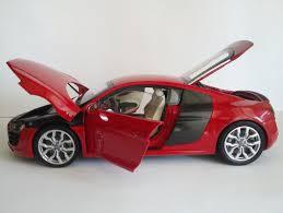 Audi R8 Red - audi r8 v10 brilliant red u0026 audi r8 v8 suzuka gray by kyosho