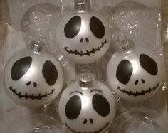skellington ornaments palline di natale