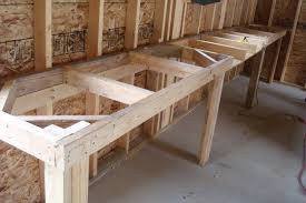 garage workbench wooden garage workbench planswood wood plans