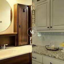 are raised panel cabinet doors out of style flat panel cabinets vs raised panel cabinets cabinet now