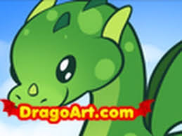 draw dragon kids step step