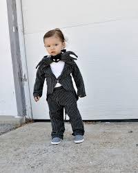 boys babies costume skellington nightmare before