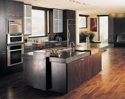 Dark Mahogany Kitchen Cabinets by Kitchen Room Wall Kitchen Captivating Kitchen Decoration Using