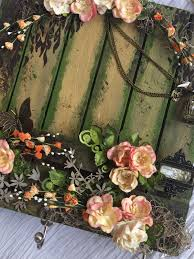 How To Make A Moss Wall by Crafters Corner Wall Decor And Folkart Painted Finishes