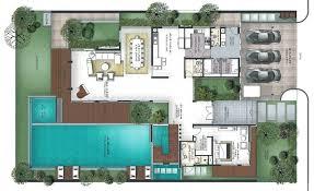 villa floor plans plans villa house plans