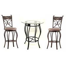 pub table height 42 6 beautiful and elegant pub table sets of 3 cute furniture