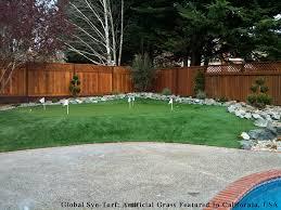 Artificial Backyard Putting Green by Artificial Grass Carpet Moorpark California Backyard Putting